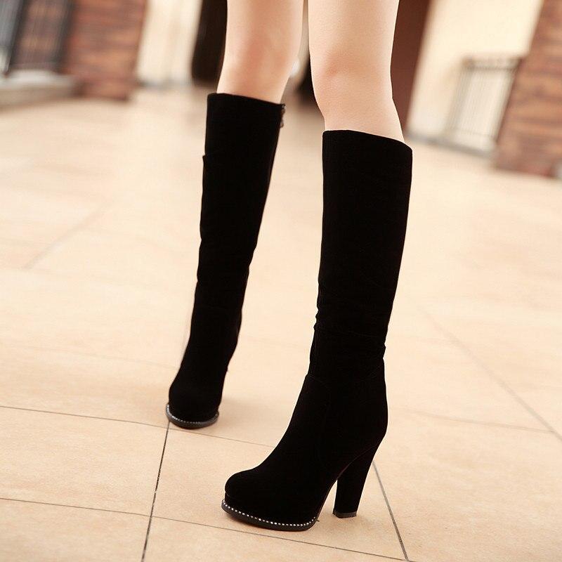 Aliexpress.com : Buy Women Boots 2016 Autumn Winter Hot Fashion ...