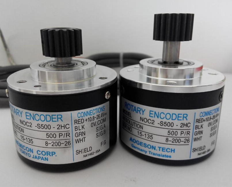 rotary encoder high quality injection molding machine noc s1000 2hc 1000 pulse