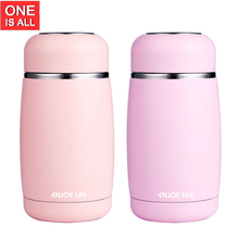 ONE IS ALL SB60284 250ml Cute Kids Thermos Cup Stainless Steel Travel Mug Vacuum Cup Water Bottle