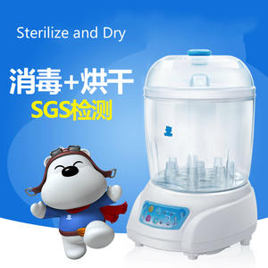 Baby Bottle Sterilizer Steam-Sterilization-Pot with The-Function of Drying Safety-Machine