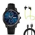 LEMFO LEM5 smart watch MTK6580 quad core WIFI GPS динамического сердечного ритма Андроид система 5.1 smartwatch для Android IOS телефон