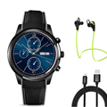 LEMFO LEM5 smart watch MTK6580 quad core WIFI GPS dynamic heart rate Android 5.1 system smartwatch for Android IOS phone