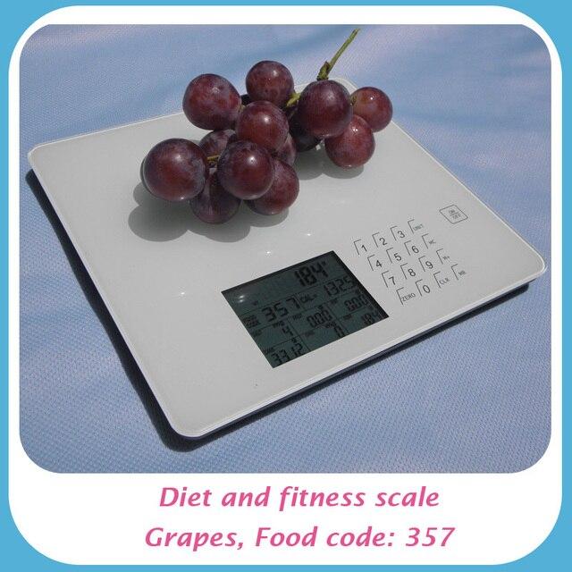 Цифровой пищевая и кухонные весы с 999 кодов для обычного питание
