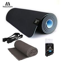 Matymats Yoga Mat set Высокая плотность Non Slip 100% TPE Йога Пилатес Тренировочные коврики с безводным полотенцем для йоги 1/4 (6 мм) толщины