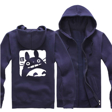New Clothing Made Anime My Neighbor Totoro Cosplay Hoodie Top Sweater Clothing Coat Men and Women Of Autumn And Winter Thickenin
