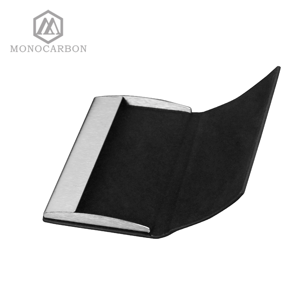 Image 5 - Monocarbon Carbon Fiber Name Card Box Holder Cardcase Luxury Business Card Holder Case Men Visiting Card Case Box-in Card & ID Holders from Luggage & Bags