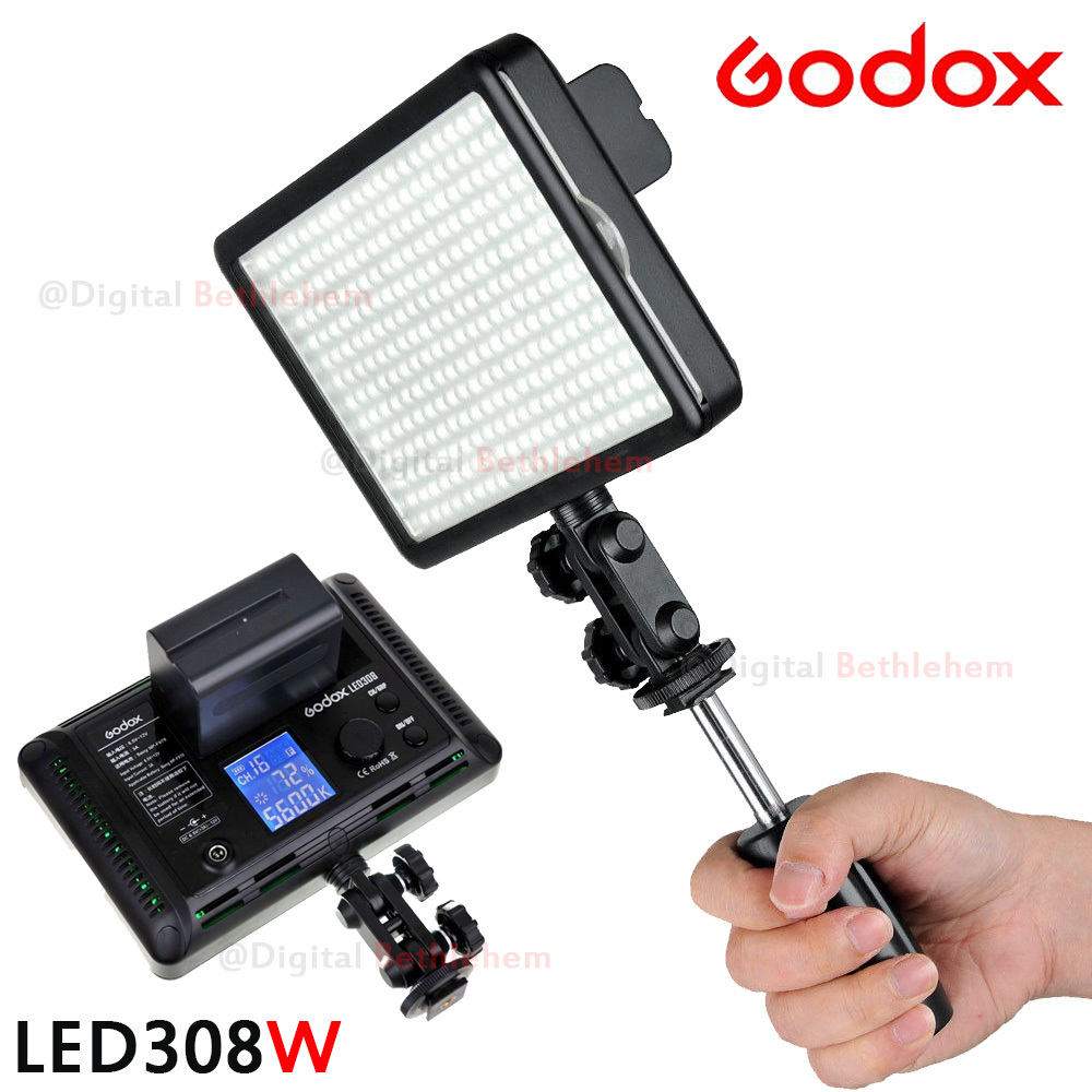 Ox Led308 Np F970 Battery And Charger 3300k 5600k Led Video Light Lamp For Wedding Videography Shooting With Wireless Remote