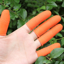 Cots Fingertips-Gloves Protective Nail-Art Latex Rubber 100pcs/Lot Antislip Wholesale