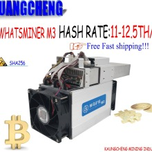 Б/у Asic BTC BCC BCH Miner WhatsMiner M3X 12.5TH/S(Max 13TH/S) с БП экономичным, чем Antminer T9 S9 S9i S9j