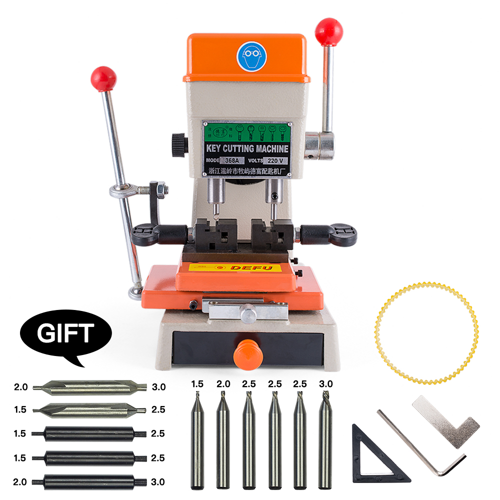 368A Key Duplicating Machine 180w Key Cutting Machine drill machine to make car door keys locksmith