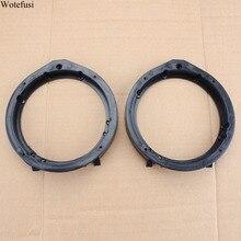 """Wotefusi стерео 5,"""" динамик монтажный черный разделитель расширитель кольца для Honda [QPA434]"""