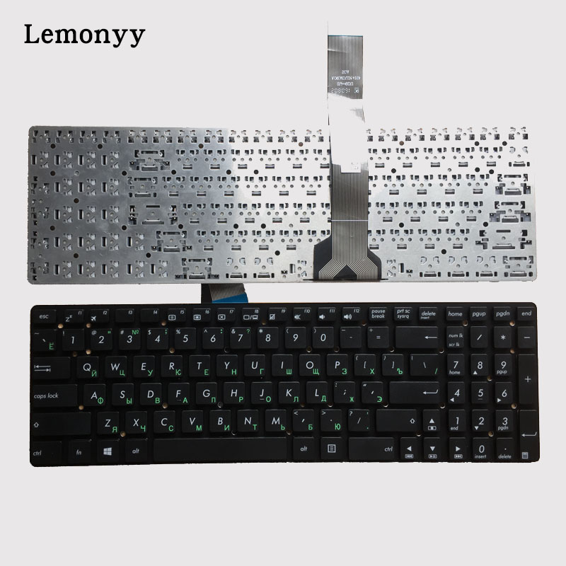 100% New Russian for ASUS K55 K55A K55VD K55VJ K55VM K55VS A55 A55V A55XI A55DE A55DR R500v R700V RU laptop Keyboard-in Replacement Keyboards from Computer & Office on