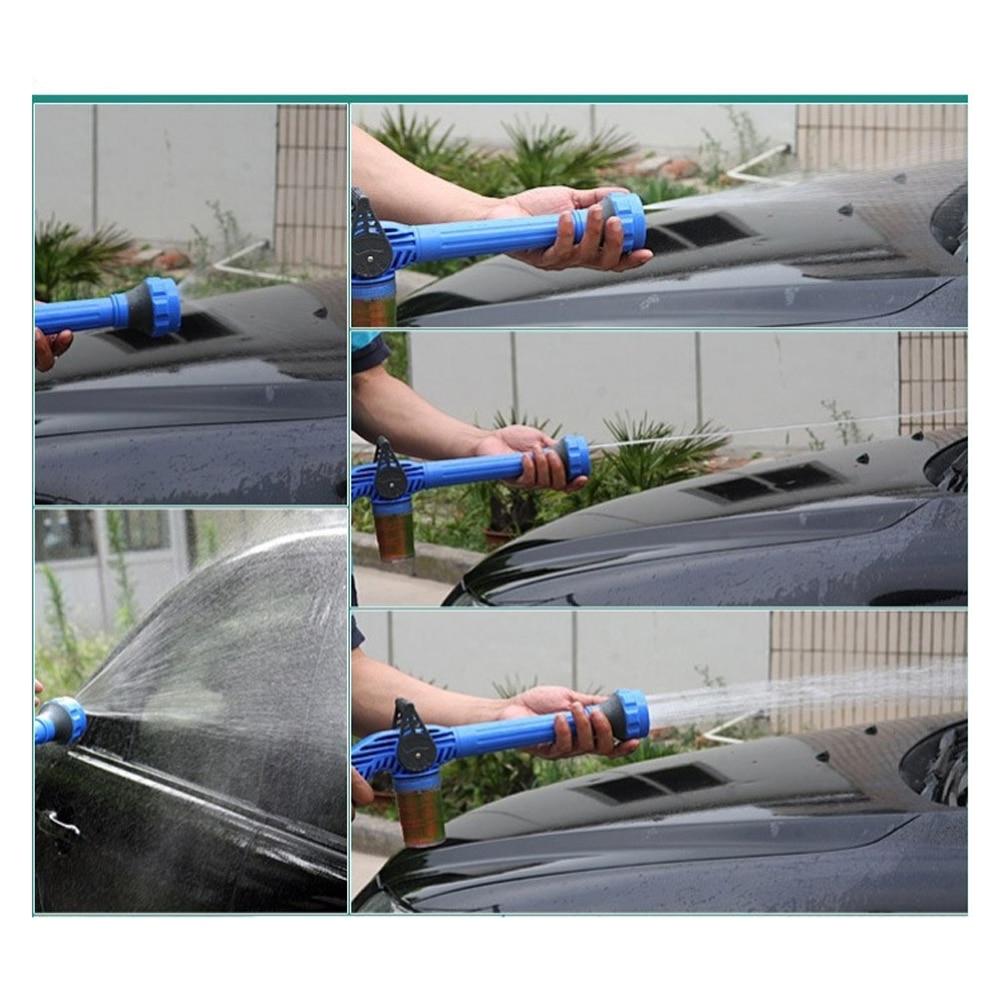 HTB1VKuebRKw3KVjSZFOq6yrDVXaB Multi-function sprinkler 8 IN 1 Garden Hose Nozzle Water Soap Dispenser Pump Spray Gun Car Washer Cleaning