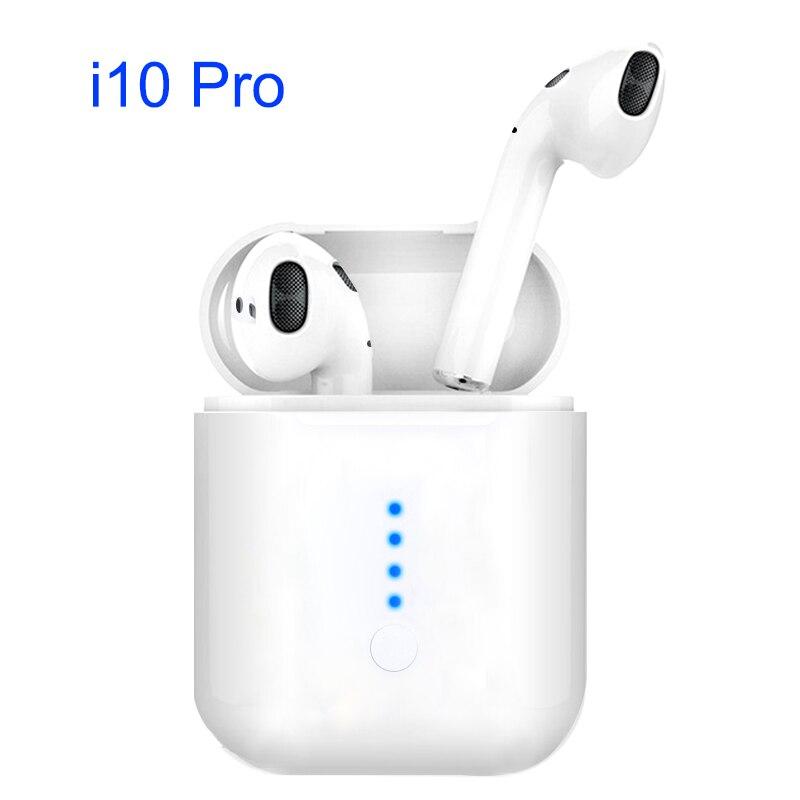 I10 Pro i 10 tws для воздуха стручки tws Мини Bluetooth вакуумные стереонаушники Handsfree беспроводной зарядки гарнитуры iphone i10 max купить на AliExpress