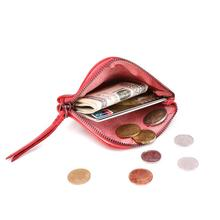 Design Genuine Leather Coin Purse Women Men Vintage Handmade Small Mini Wallet Card Holder Bag Case Zipper Change Purses Female цена и фото