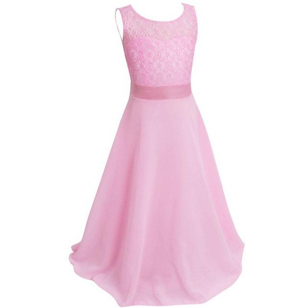 Top Wedding Longdresses Kids Girls Teenger Perform Long Dress Dresses Frommor Kids New Design Girls Lace Princess Prom Dresses Wedding New Design Girls Lace Princess Prom Dresses