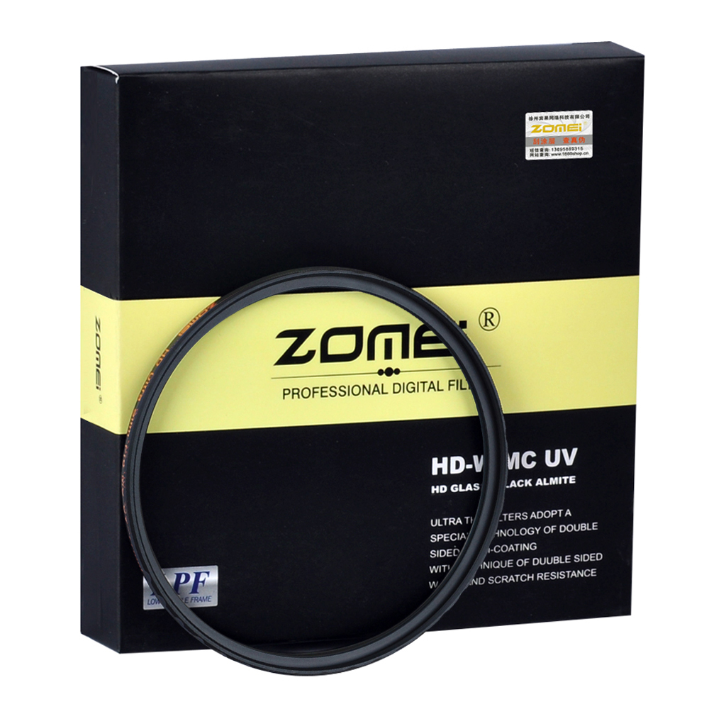 Zomei HD 18 layer Ultra Slim MC UV Filter Waterproof Oilproof Scratch MCUV Filter For Canon Nikon Sony Pentax Fuji Lens 82mm zomei hd slim adjustable fader 18 layer nd2 400 filter neutral density nd optical glass for canon nikon sony pentax lens