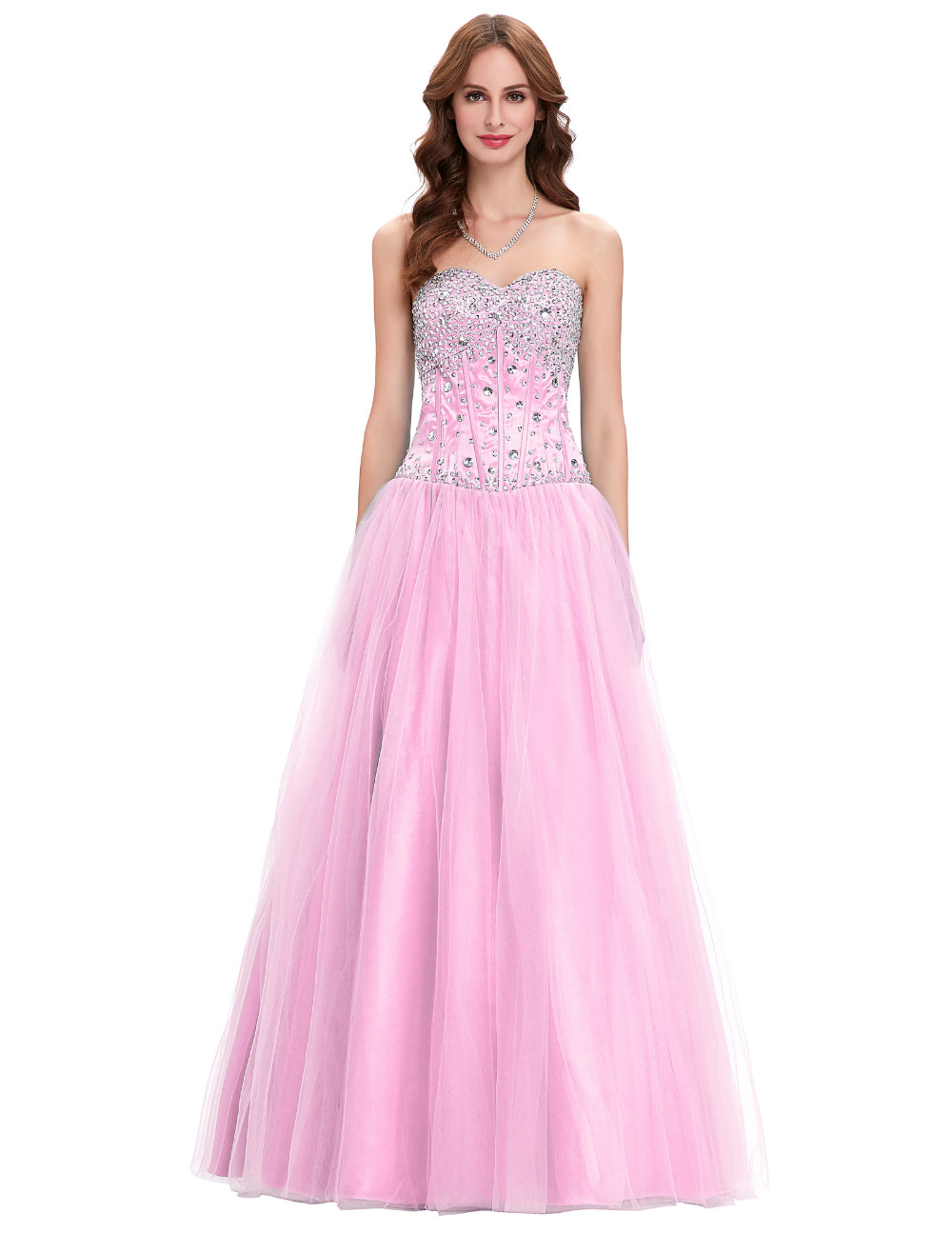 White junior bridesmaid dresses reviews online shopping white free shipping blue white pink bridesmaid dresses 2017 crystal tulle party dress for wedding junior ball gown bridesmaids dress ombrellifo Image collections