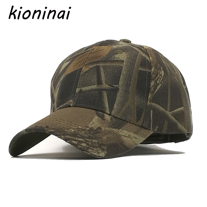 Kioninai Soldier Baseball Cap Army Green Snapback Caps Men Camouflage Cotton Sport Hat Gorras Troops Bone Casquette fashion rivets cotton polyester fiber men s flat top hat cap army green