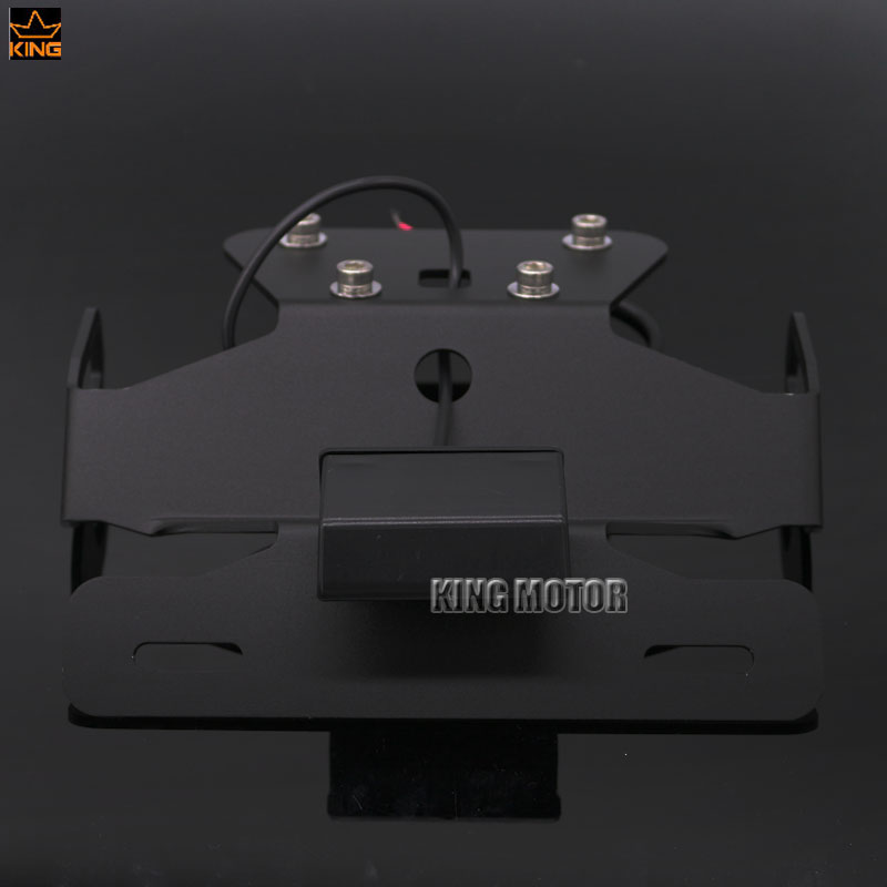 Motorcycle Tail Tidy Fender Eliminator Registration License Plate Holder LED Light For KAWASAKI Z250 Z300 NINJA 250R/300R EX250 for kawasaki zx6r zx 6r ninja 2007 2008 motorcycle tail tidy fender eliminator registration license plate holder led light