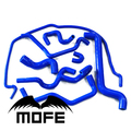 8 шт 3 слойный оригинальный логотип силиконовый нагреватель охлаждающей жидкости шланг радиатора комплект для Sa ab 9-5 1999-2001 8 видов цветов