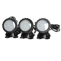 Color Automatically Waterproof 36 LED Bulbs Spotlight Underwater Submersible Aquarium Spot Light for Fish tank
