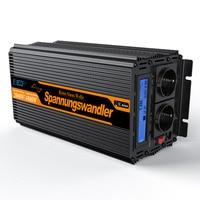 EDECOA 2000w pure sine wave DC 12V to AC 220v 230v 240v power inverter peak 4000w