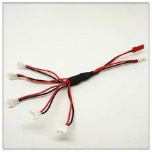 HOT 1 to 5 Balance 3 7V Charging battery Cable for V930 V977 V966 V988 Hubsan