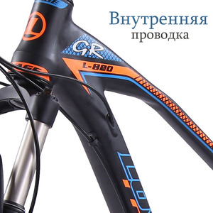Image 2 - wolfs fang bicycle Mountain Bike 27speed 29Inch road bikes mtb New bmx Aluminum alloy Fat Front And Rear Mechanical Disc Brake