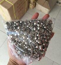 (500 قطعة/الحزمة) 11*17 مللي متر المفروشات الفضة مسمار المسامير الأثاث الزخرفية بوشبينس