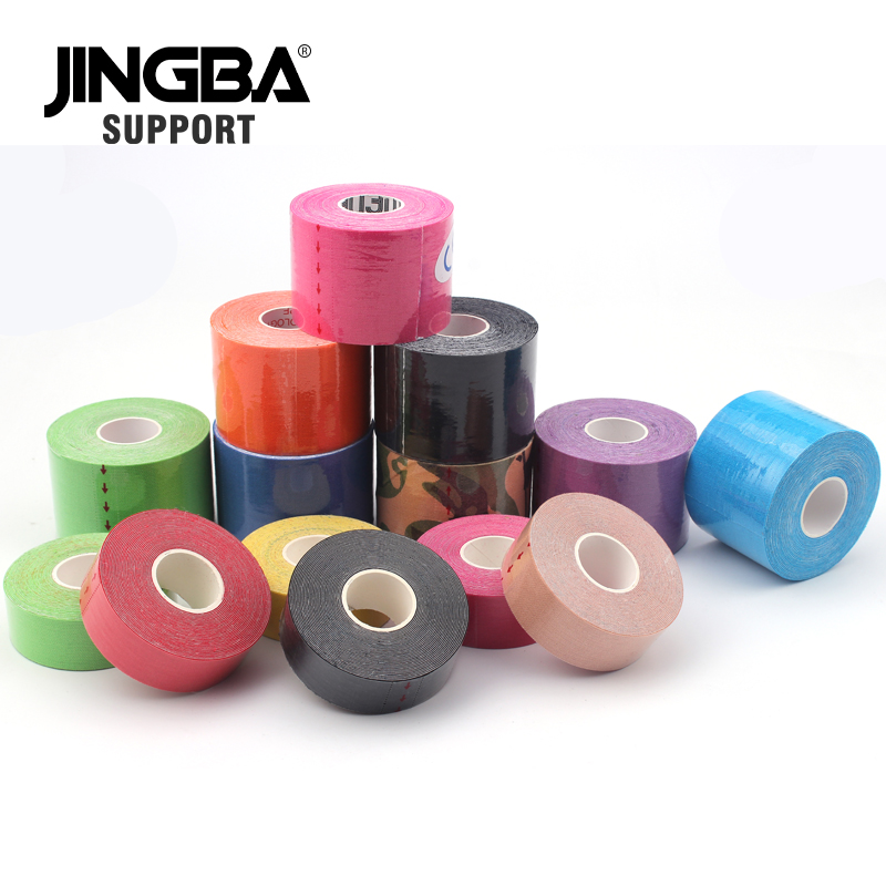 JINGBA SUPPORT 2 size Sport tape elastic bandage Football / Basketball / Tennis / Sports Recovery Muscle Tape bandagem elastica