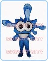 קמע גודל מבוגרים תחפושת קמע טיפת מים הכחולה טיפת מים קריקטורה תלבושות cosplay אנימה קרנבל פנסי dress ערכות נושא 2621