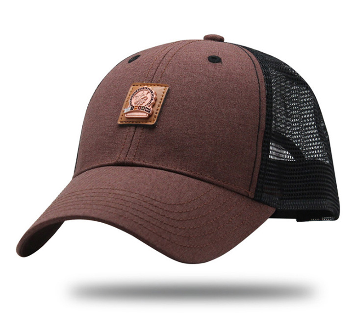 868c447f88d [AKIZON] Trucker Cap Mesh Baseball Caps Summer Hats For Men Fashion Sport  Gorras