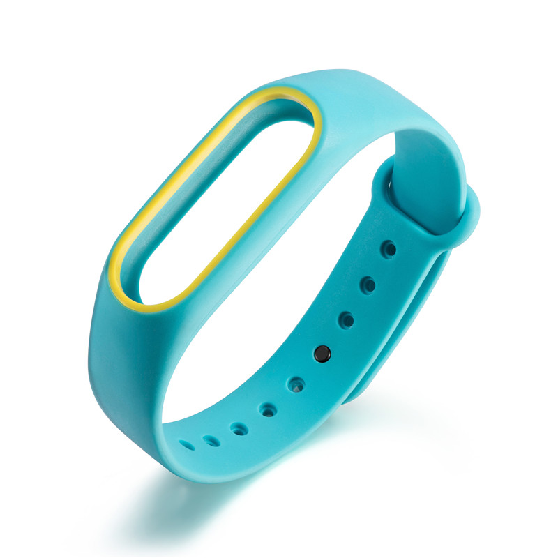 Original Silicone Wrist Strap For Xiaomi Mi Band 2 Pedometers Straps Bracelet Colorful Running Fitness Sports Accessories