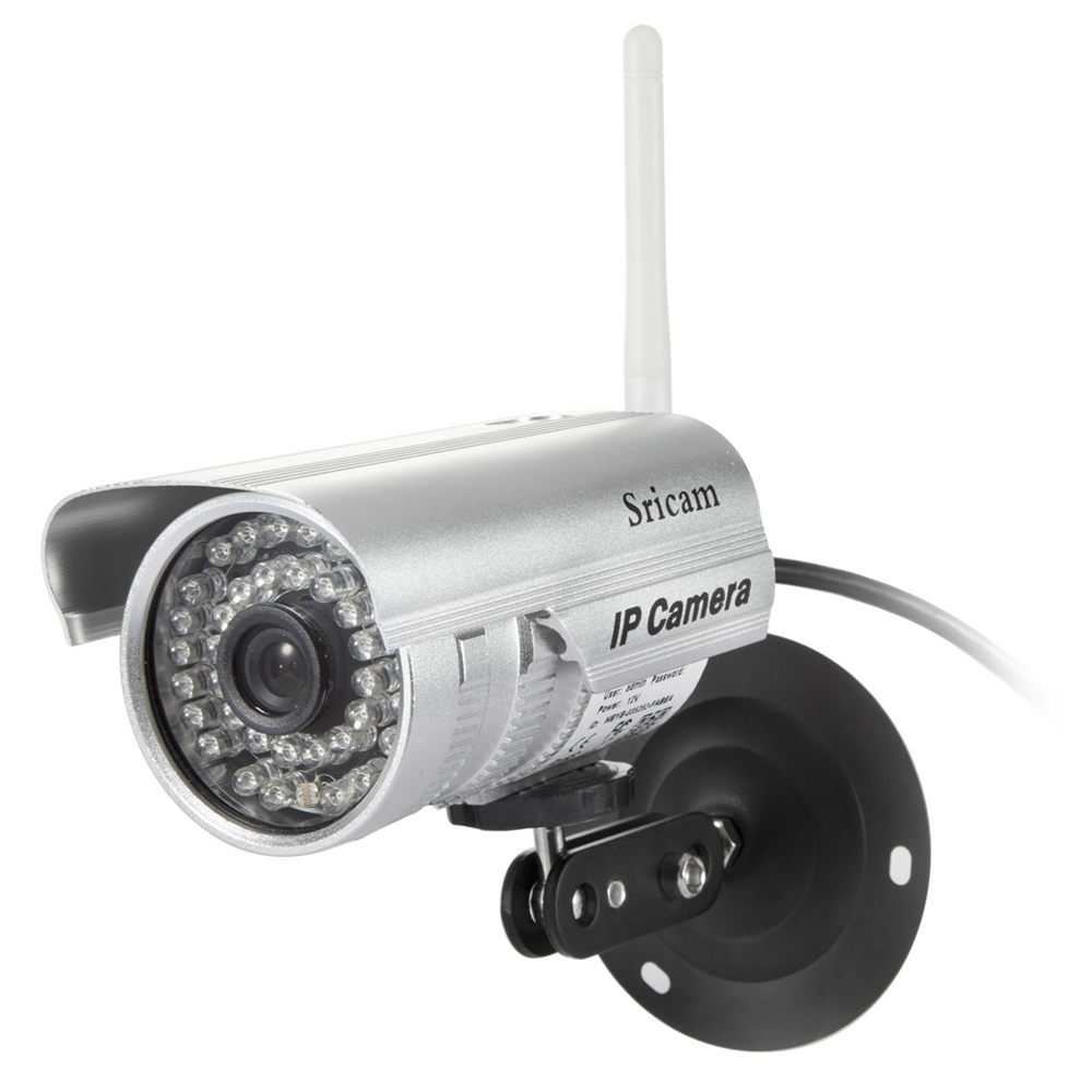 Sricam SP013 HD 720P IP Security Camera H.264 Wireless Waterproof ONVIF Outdoor IR Surveillance Camera Lens with Night Vision hd 720p ip camera outdoor bullet h 264 cmos security camera ir night vision 3 6mm lens surveillance 1 0mp ip camera onvif