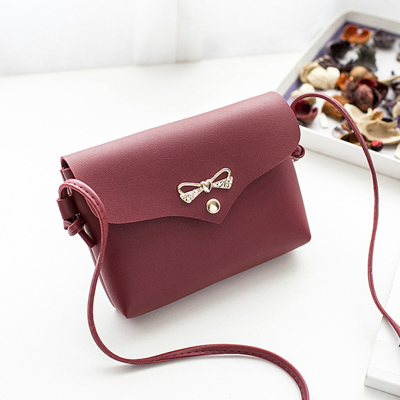 Women Lady Girl Shoulder Crossbody Bag PU Leather Bowknot Fashion For Mobile Phone Money Best Sale-WTWomen Lady Girl Shoulder Crossbody Bag PU Leather Bowknot Fashion For Mobile Phone Money Best Sale-WT