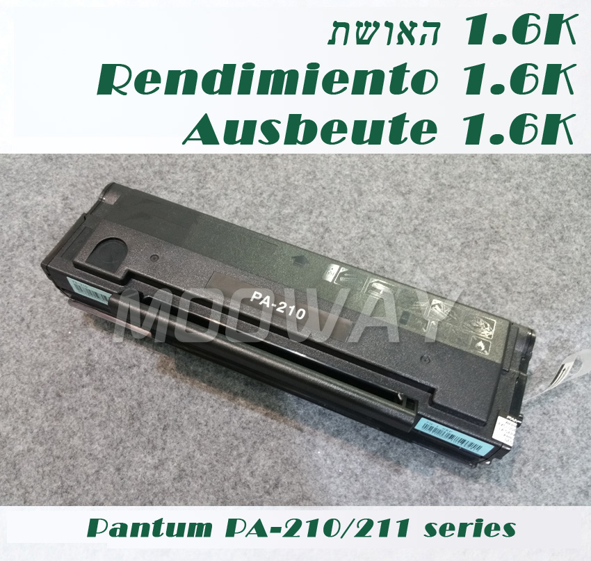 Remanufactured Toner Cartridge For Pantum P2500W P2505 P2550 M6200 M6500 M6505 M6550 M6600 PA-210 PA-211 Toner Cartridge