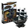 Candice guo! Brand new hot sale 3D puzzle toy 3D paper model black pearl ship the Queen Anne's Revenge