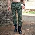 Moda Multi-Bolsillo Solid Para Hombre Pantalones de Algodón Pantalones de Carga de Alta Calidad Para Los Hombres Del Ejército Militar Camuflaje Táctico Pantalones de Los Hombres