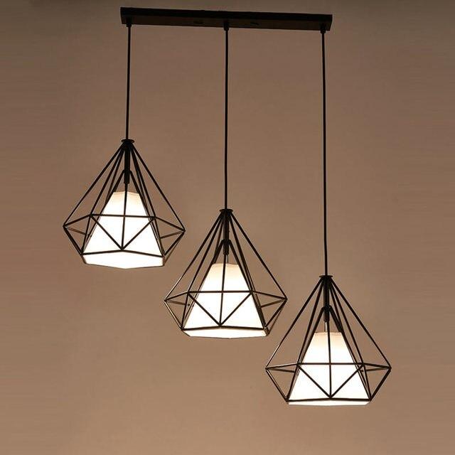 Industrial luz colgante E27 lámparas Comedor Cocina restaurante de ...