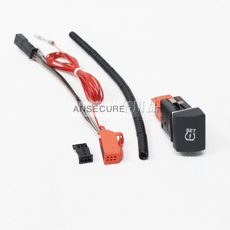 set Tire pressure warning Switch Button + cable FOR SKODA superb 3TD 927 127 2009-2015