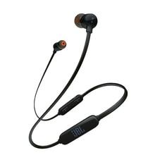 font b JBL b font T110 BT Wireless Bluetooth Headphones In Ear Earphones Sports Magnetic