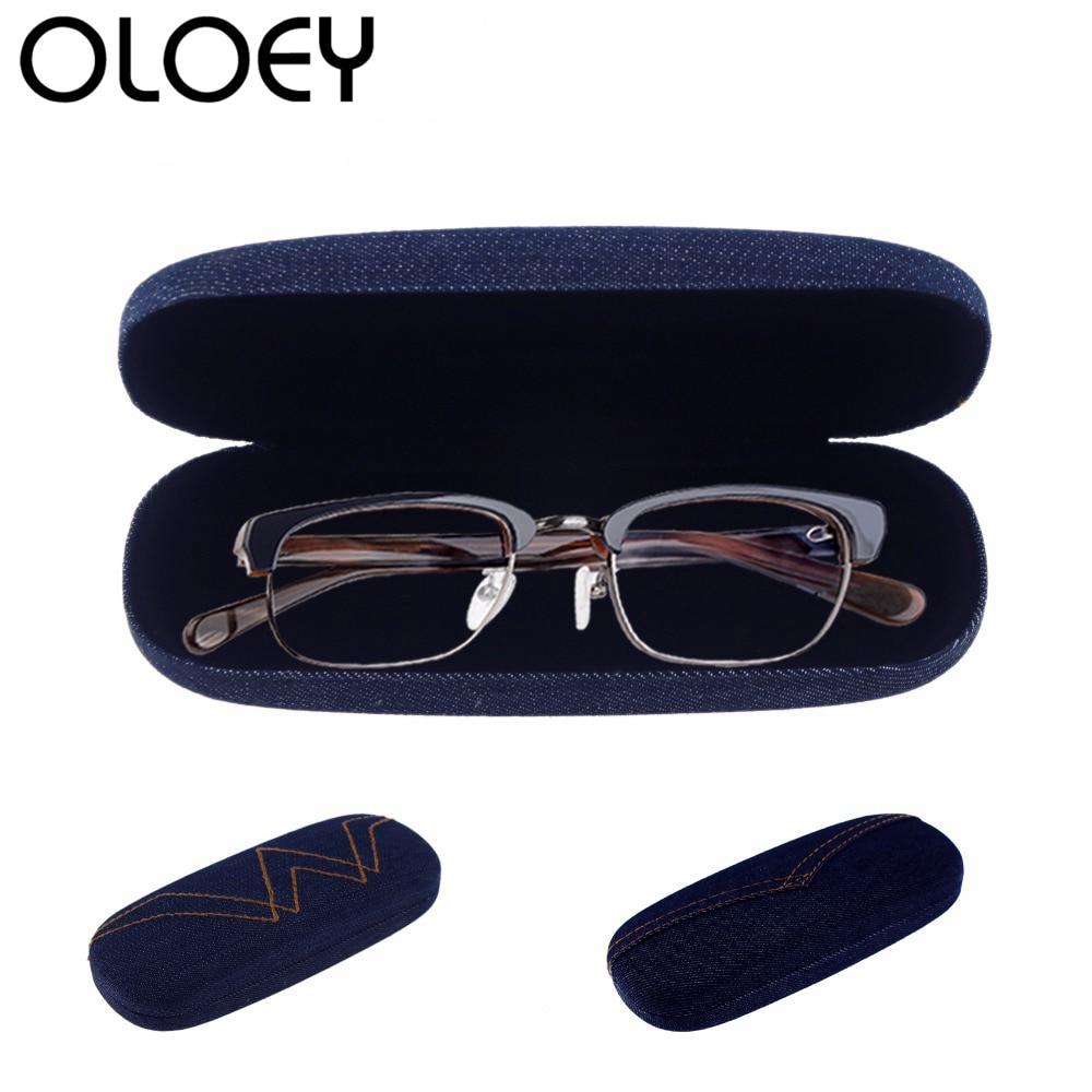 2018 Jauns džinsa cietais saulesbrilles brilles lieta vīriešiem - Apģērba piederumi