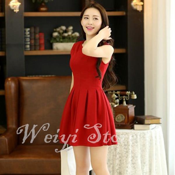 f7d234da20d29 New 2014 Spring Summer New Womens Wholesale Clothing Women Short Dresses  A-Line Aliexpress UK Women Clothes Korean Cute Dress