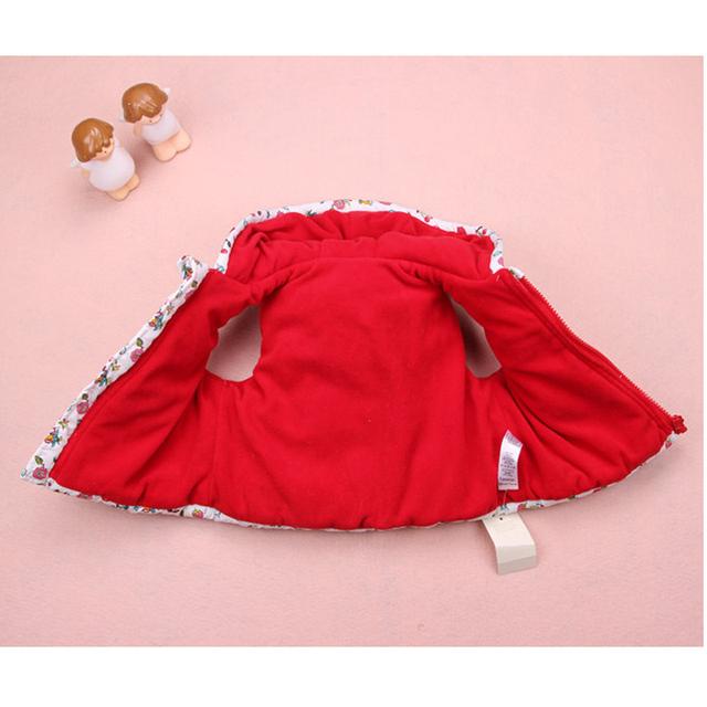 Baby Girl Flowers Waistcoat