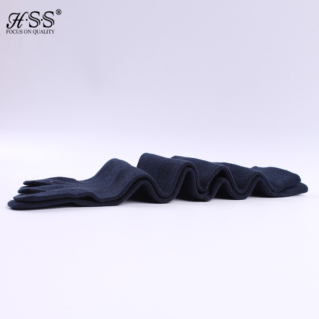 Hot Sell+3Pairs/lot High Quality Men's Business Casual Cotton Socks Black Blue Ideal For Five 5 Finger Toe Shoes Unisex Socks