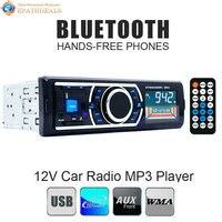 Bluetooth Auto Radio Stereo 1 DIN In-Dash Auto FM Aux im Empfänger Audio Mp3-player Unterstützung SD USB + Fernbedienung Control