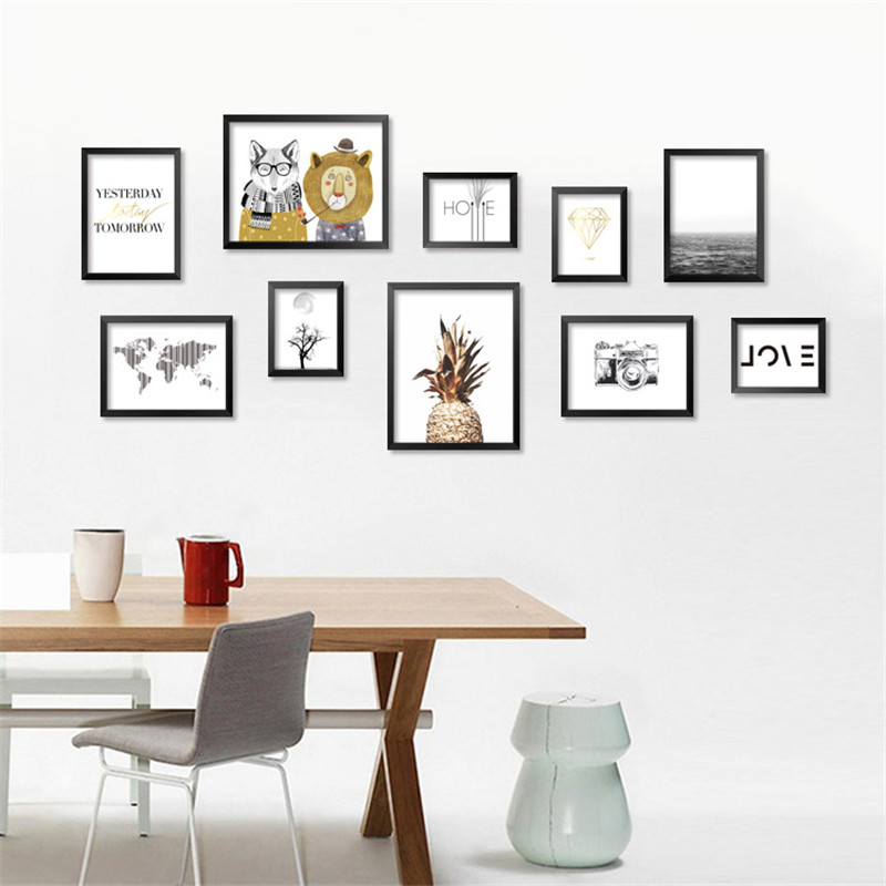 Online Shop Yesterday Today Tomorrow Animal Art Prints Poster ...