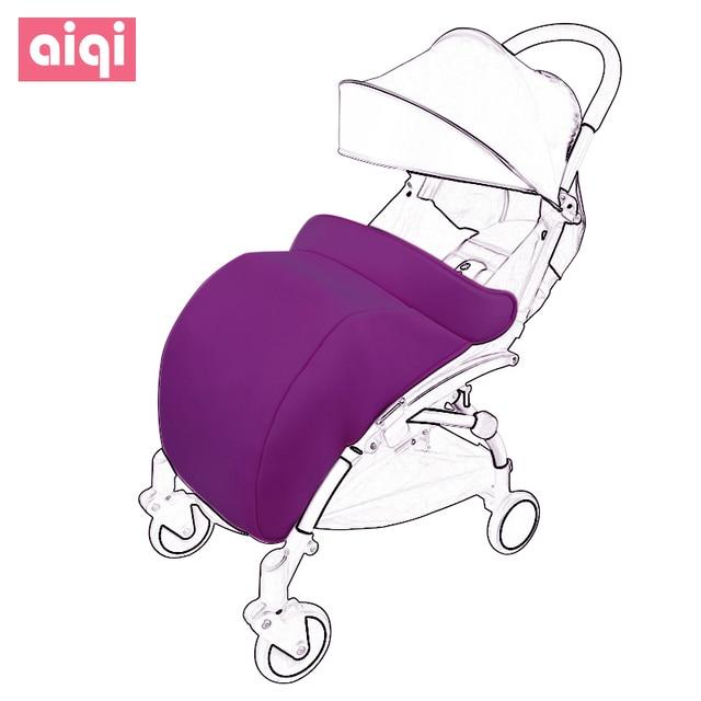 aiqi d'hiver lourd coton, chaud, coupe vent, bébé poussette, chariot,  parapluie de voiture, universal couverture de pied, en plein air sac de