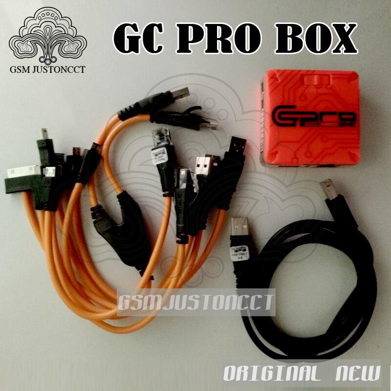 Date Verison GC Pro Boîte GC PRO BOÎTE GcPro Boîte avec 7 câbles Pour Samsung ZTE Huawei MTK CDMA Livraison gratuite